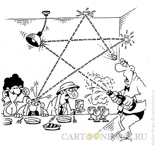 Карикатура: Праздничная звезда, Кийко Игорь
