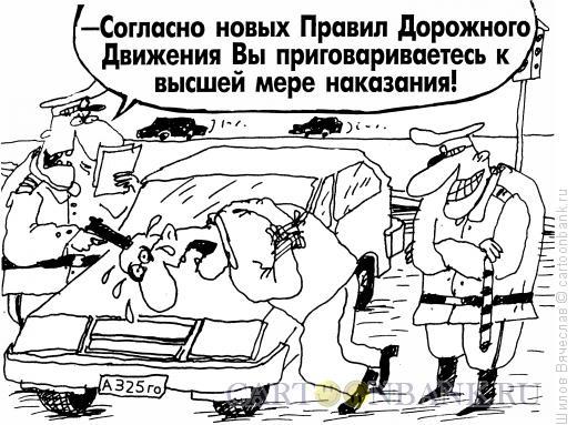 Карикатура: Расстрел по Правилам, Шилов Вячеслав