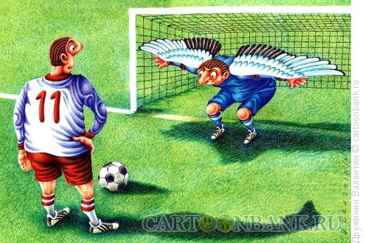 Карикатура: Крылья, Дружинин Валентин