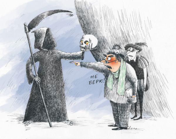 Карикатура: сила таланта, Алла Сердюкова