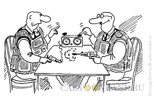 Карикатура: Аналог шахмат, Богорад Виктор