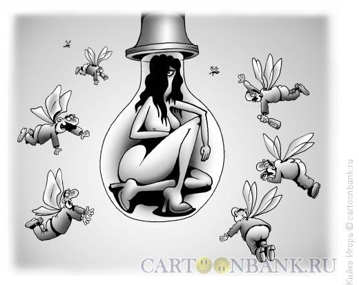 Карикатура: Влечение, Кийко Игорь