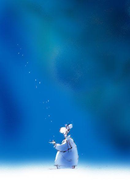 Карикатура: Снег, Андрей Климов