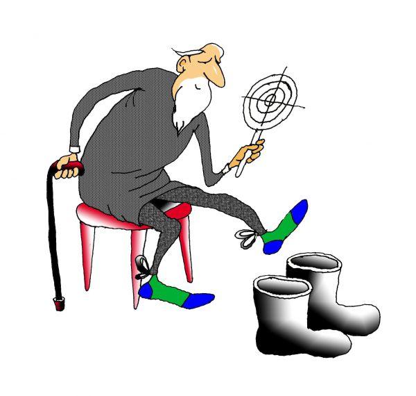 Карикатура: Точно в цель, Николай Кинчаров