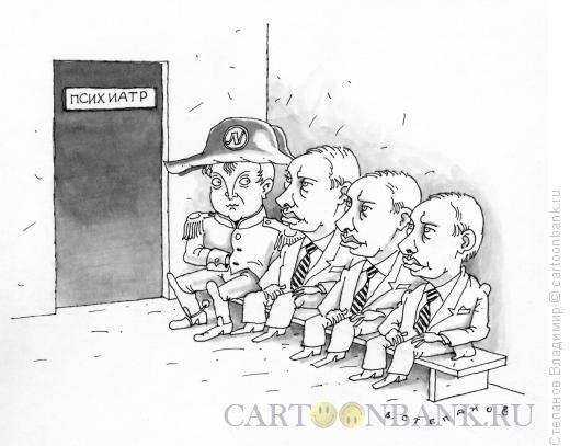 Карикатура: Сезонное обострение, Степанов Владимир