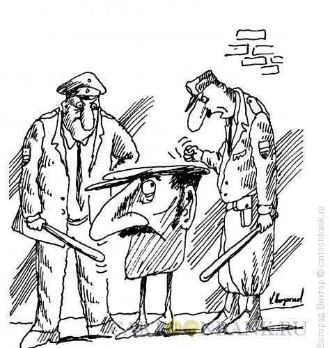 Карикатура: Большая кепка, Богорад Виктор