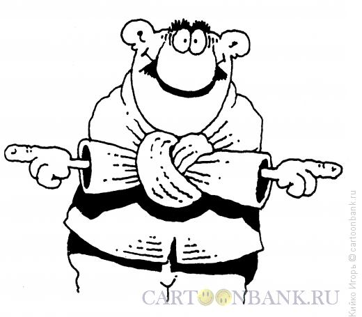 Карикатура: Руки, Кийко Игорь