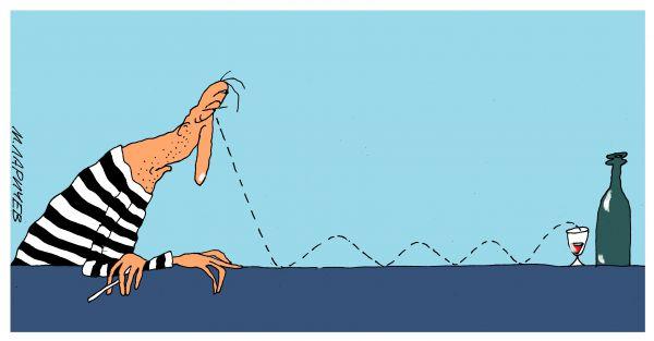 Карикатура: взгляд, михаил ларичев
