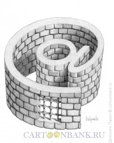 Карикатура: Интернет-тюрьма, Далпонте Паоло