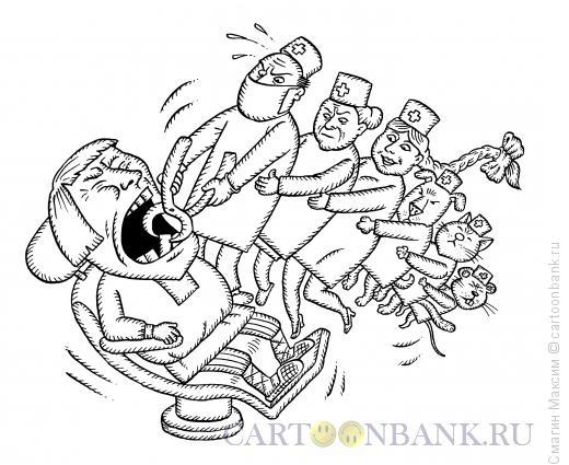 Карикатура: Репка, Смагин Максим
