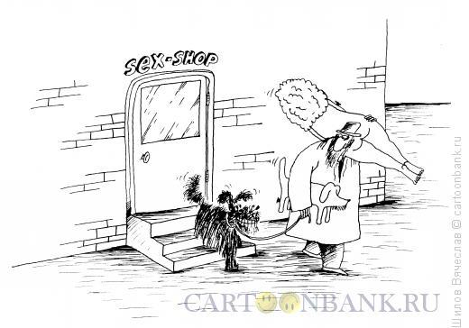 Карикатура: Секс-шоп, Шилов Вячеслав