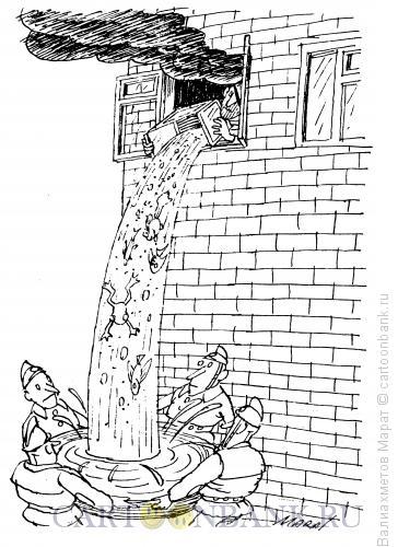 Карикатура: Спасение, Валиахметов Марат