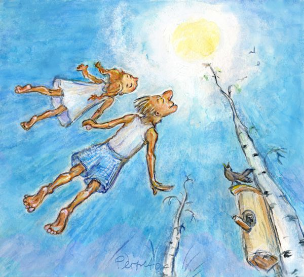 Карикатура: весна, Perpeta