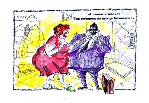 Карикатура: Вечерняя Украина, Владимир Тихонов