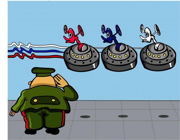 Карикатура: Патриотичненько., somnambula