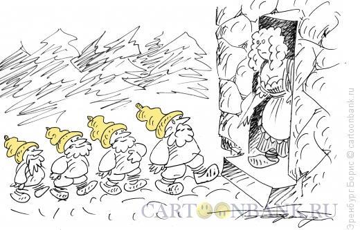 Карикатура: Гномы, Эренбург Борис