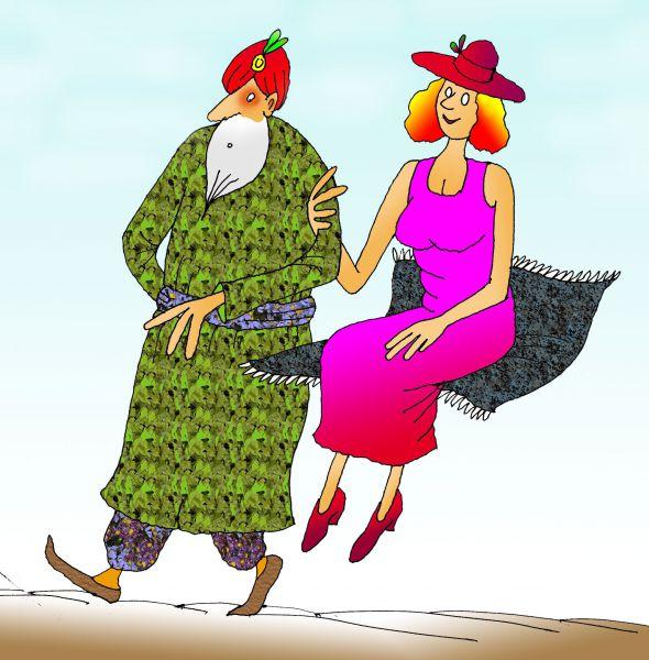 Карикатура: Первое Апреля, Николай Кинчаров