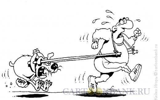 Карикатура: Биотренажер, Кийко Игорь