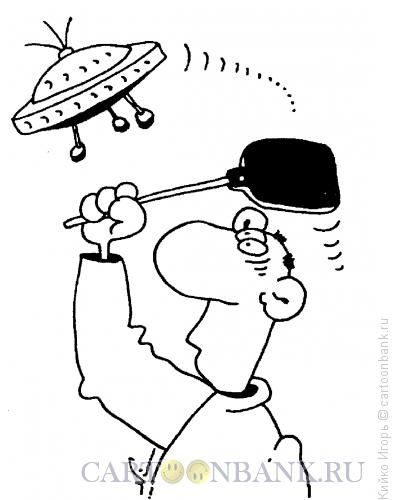 Карикатура: Разлетались, Кийко Игорь