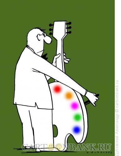 Карикатура: Искусство музыки, Дубовский Александр