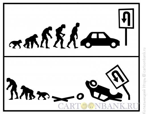 Карикатура: Эволюция вандализма, Копельницкий Игорь