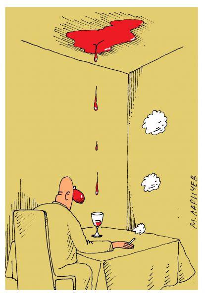 Карикатура: триллер, михаил ларичев
