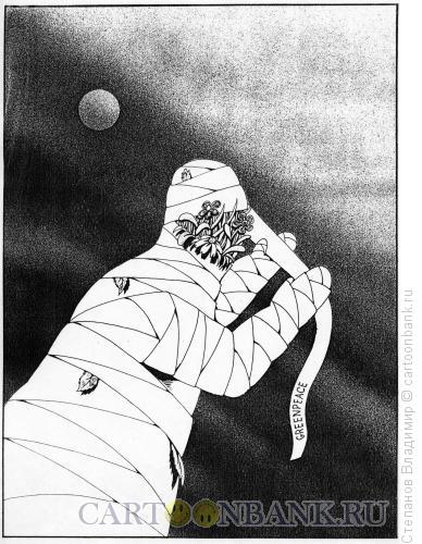 Карикатура: Защита среды, Степанов Владимир