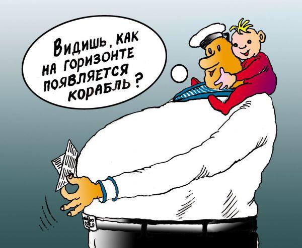 Карикатура: Наглядный рассказ, Николай Кинчаров