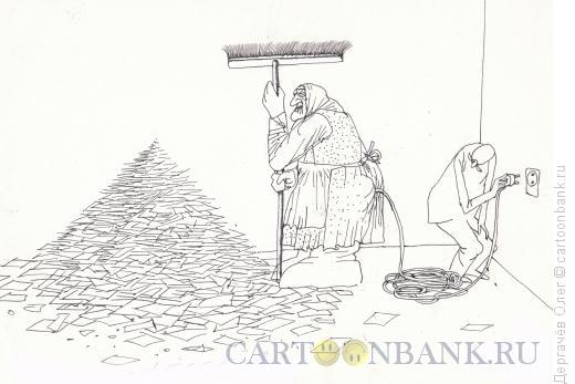 Карикатура: Электровеник, Дергачёв Олег