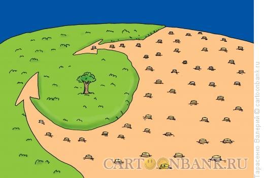 Карикатура: Глобальное потепление, Тарасенко Валерий