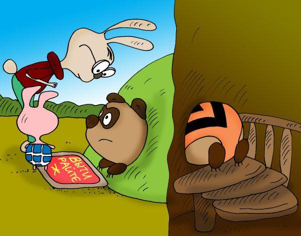Карикатура: это Ж неспроста..., Булатов Алексей