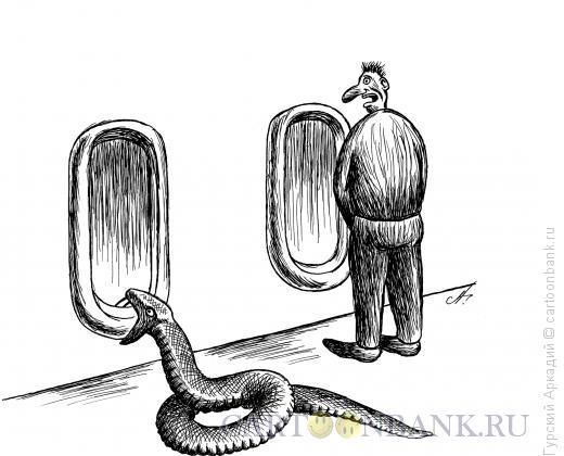 Карикатура: туалет-писсуар, Гурский Аркадий