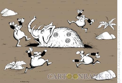 Карикатура: Бюрократы, Дубовский Александр