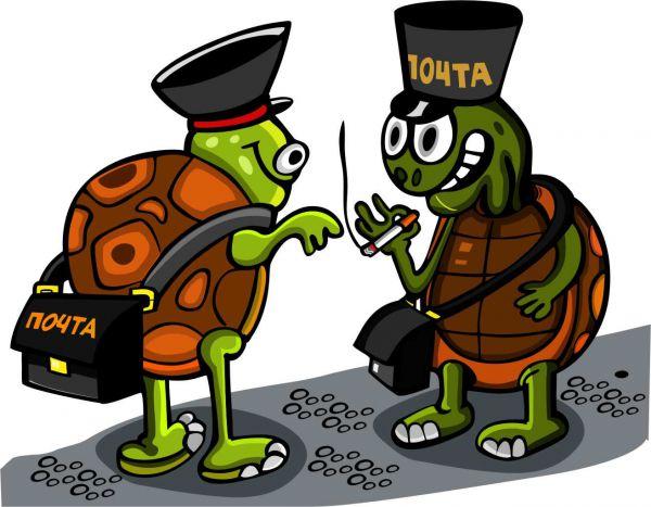 Карикатура: Срочная доставка, somnambula