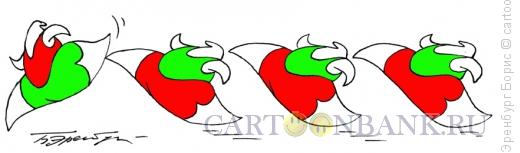 Карикатура: Подножка, Эренбург Борис