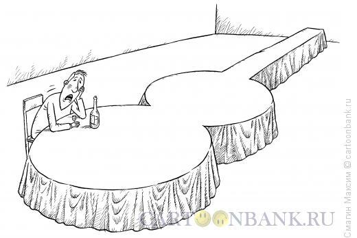 Карикатура: Стол-гитара, Смагин Максим