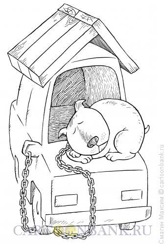 Карикатура: Автоконура, Смагин Максим