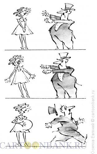Карикатура: фокус, Осипов Евгений