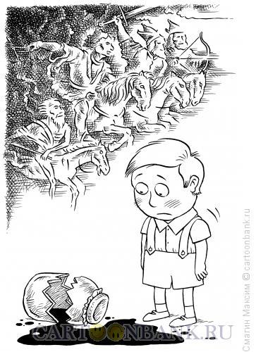 Карикатура: Варенье апоклипсиса, Смагин Максим