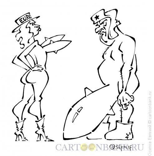 Карикатура: ассиметричный ответ, Осипов Евгений
