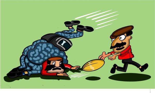 Карикатура: Регби. Динамо-Трудовые резервы, somnambula