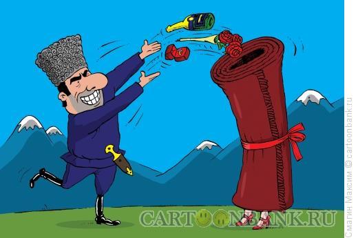 Карикатура: Украденная невеста, Смагин Максим