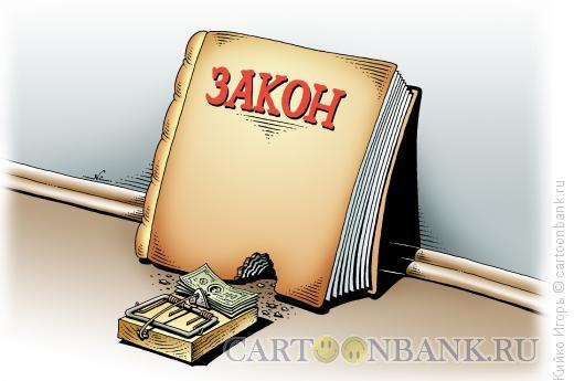 Карикатура: Дырка в законе, Кийко Игорь
