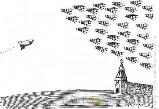 Карикатура: бадминтон, Майстренко Дмитрий