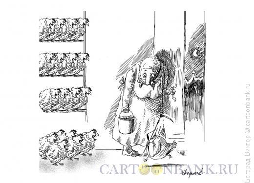 Карикатура: Птичий грипп, Богорад Виктор