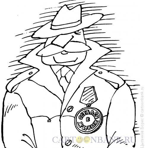 Карикатура: Орден, Цыганков Борис
