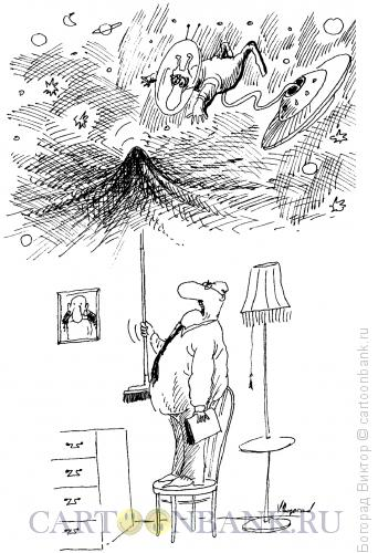 Карикатура: Требование тишины, Богорад Виктор