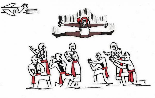 Карикатура: Без слов, Копейченко Валерий
