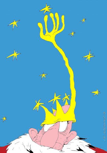 Карикатура: Звезда, Михаил ларичев