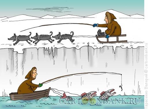 Карикатура: Заплыв, Тарасенко Валерий